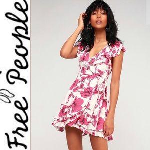 🆕 Free People French Quarter Ivory Print Dress